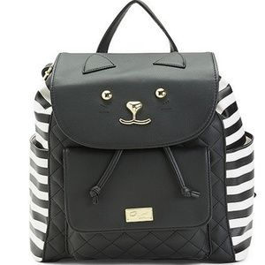 New LUV Betsey Cat Backpack